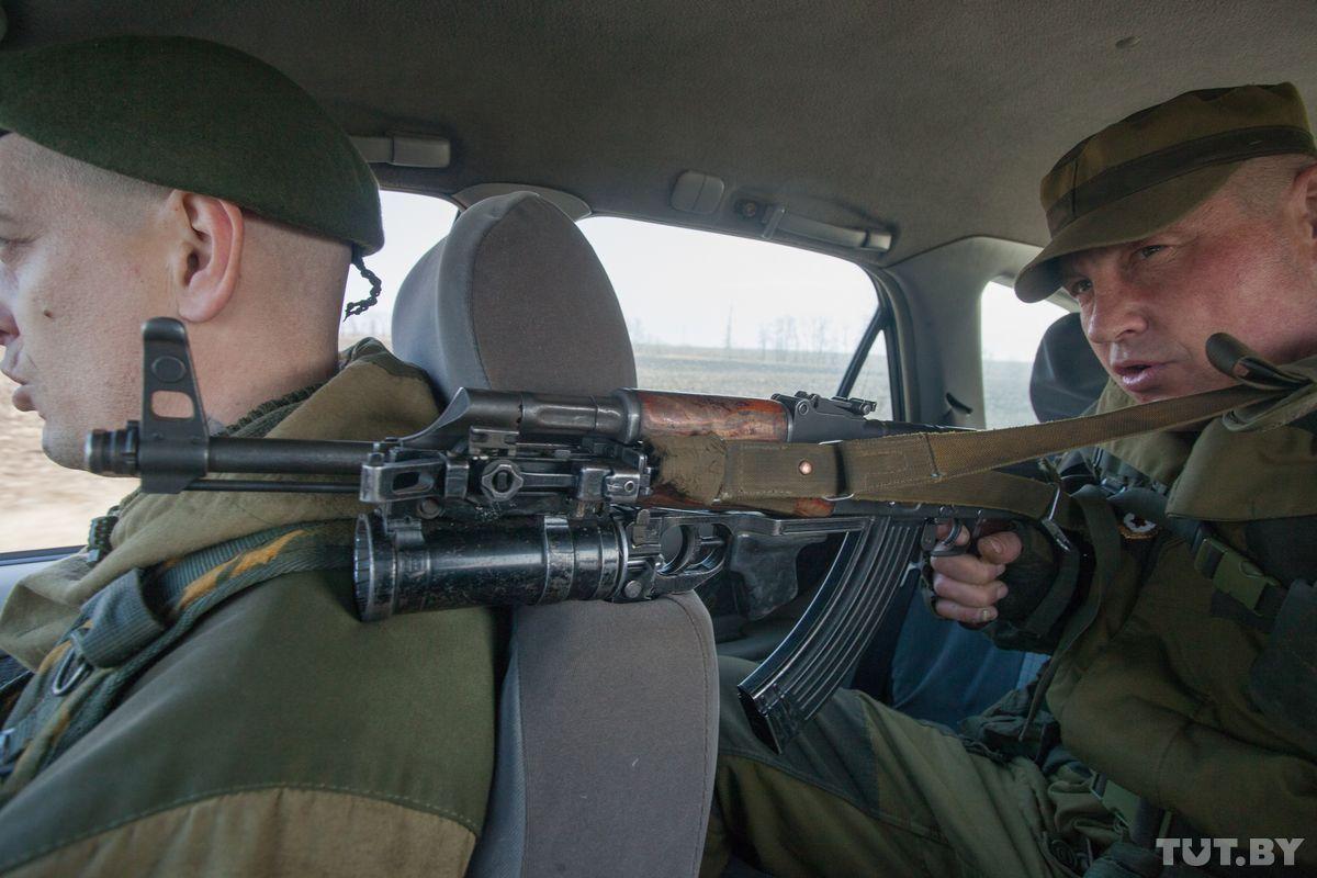 Поездка к линии вооруженного конфликта