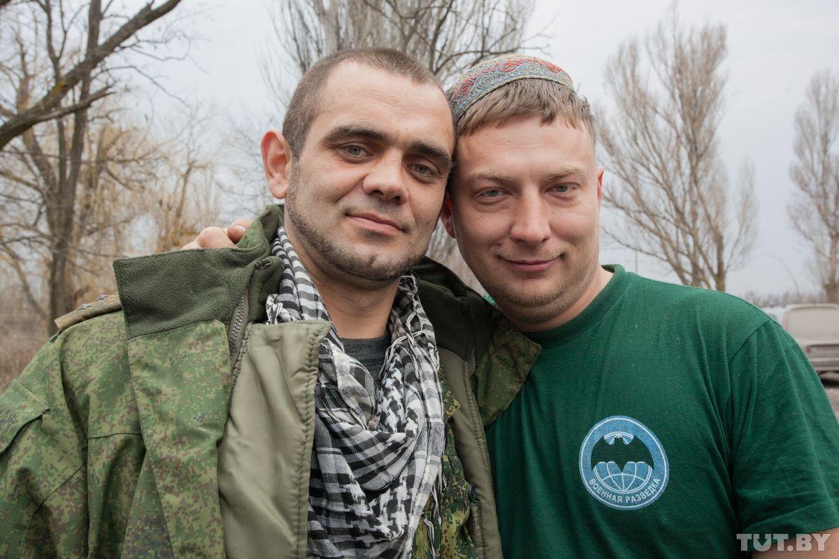 Кучер и Малой (слева).