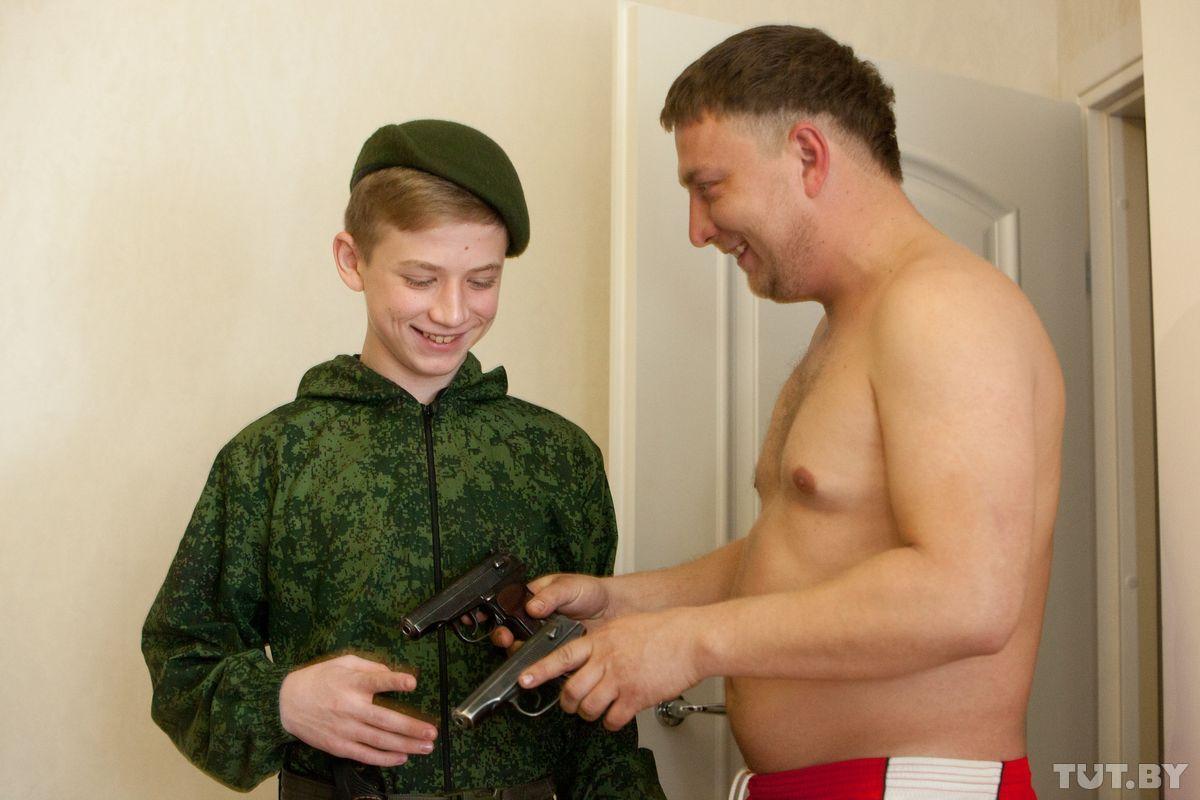 Кучер с сыном