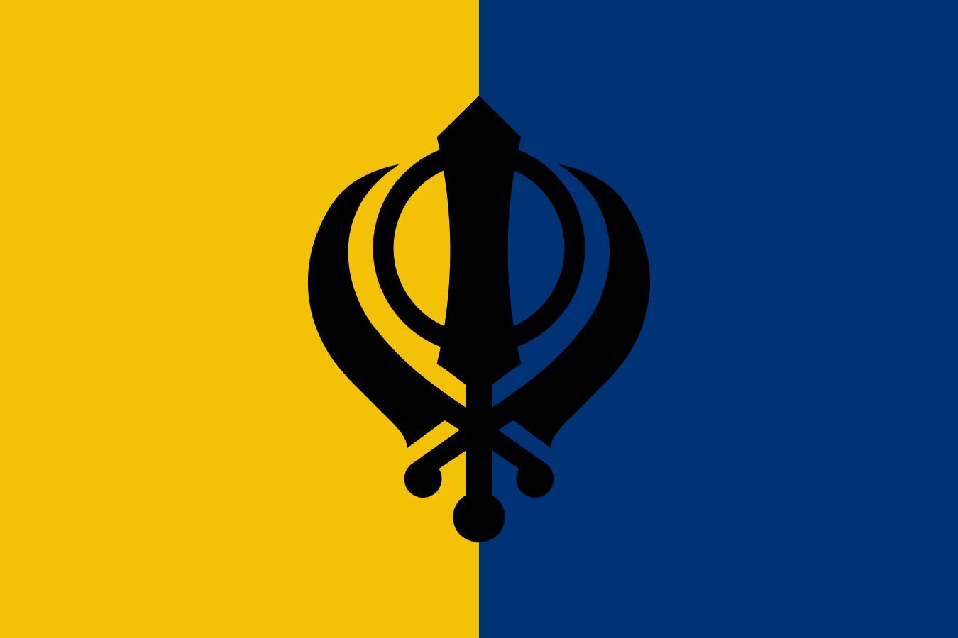 Флаг Халистана