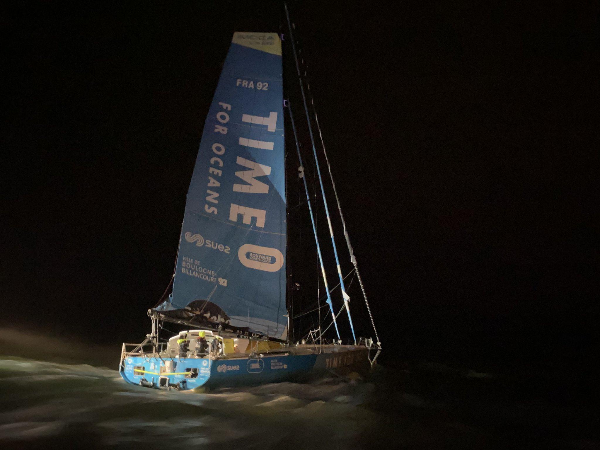 Та самая Time for Oceans - лодка 2007 года