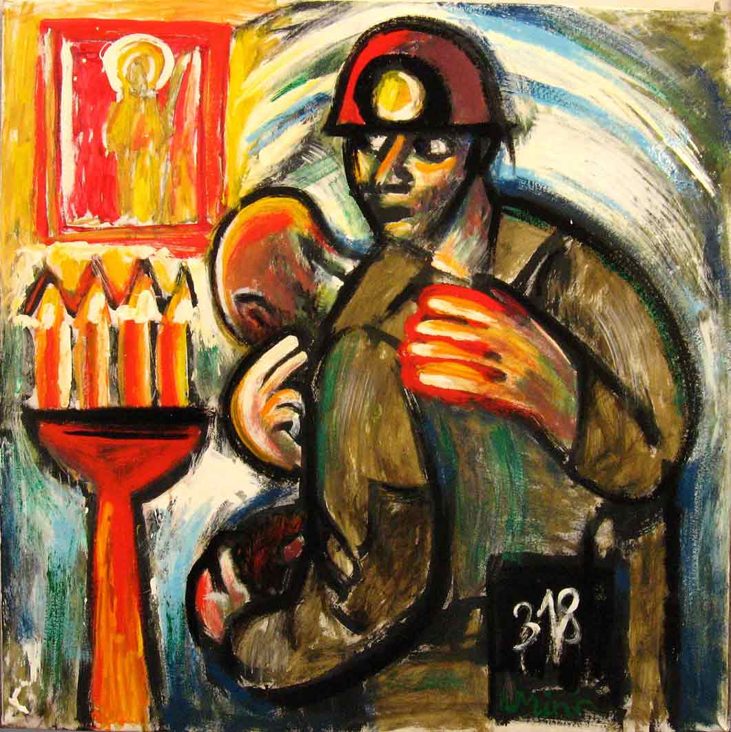 Картины Романа Минина Молитва