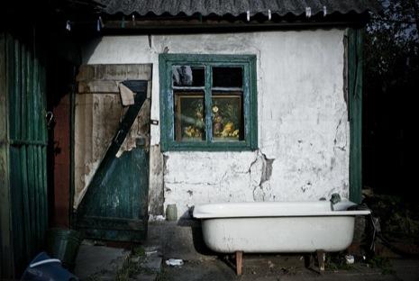 Необитаемый дом в окрестностях Енакиева