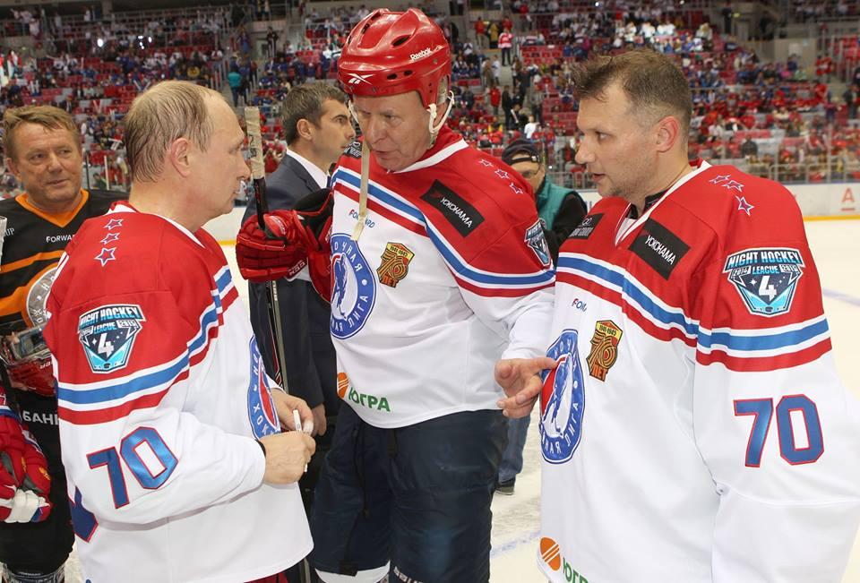 Набоков, Путин и Фетисов