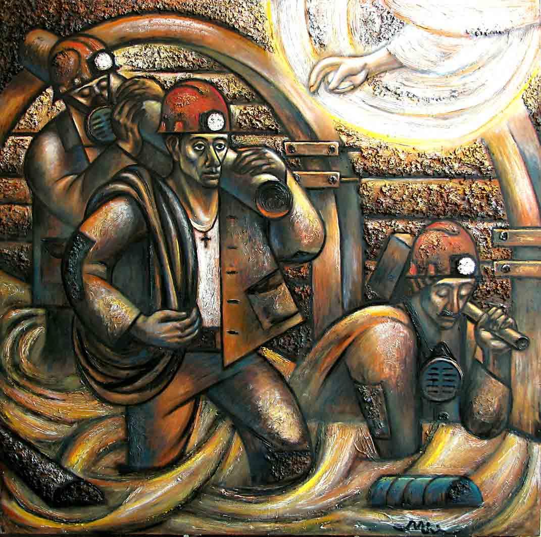 Картины Романа Минина Спасение