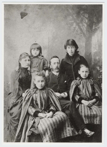 Семья Артура Юза